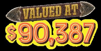 valued at $90,387