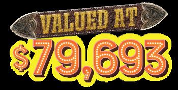 valued at $79,693