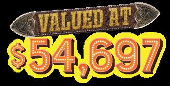 valued at $54,697