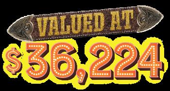 valued at $36,224