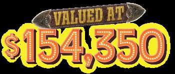 valued at $154,350